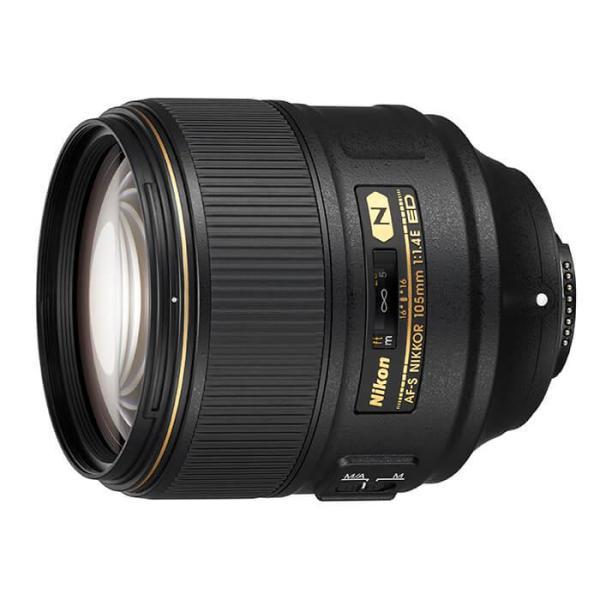 《新品》 Nikon (ニコン) AF-S NIKKOR 105mm F1.4E ED【EXUSレンズプロテクト82mmプレゼント(¥7,580-相当)】