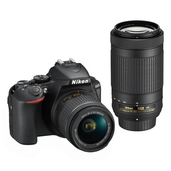 《新品》Nikon (ニコン) D5600 ダブルズームキット|ymapcamera