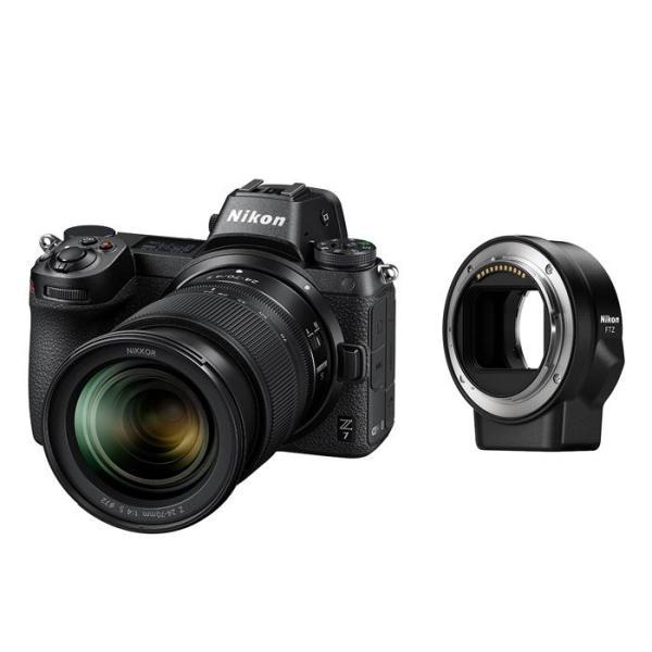 《新品》 Nikon (ニコン) Z7 24-70 + FTZマウントアダプターキット [ ミラーレス一眼カメラ ]【キャッシュバックキャンペーン対象】|ymapcamera