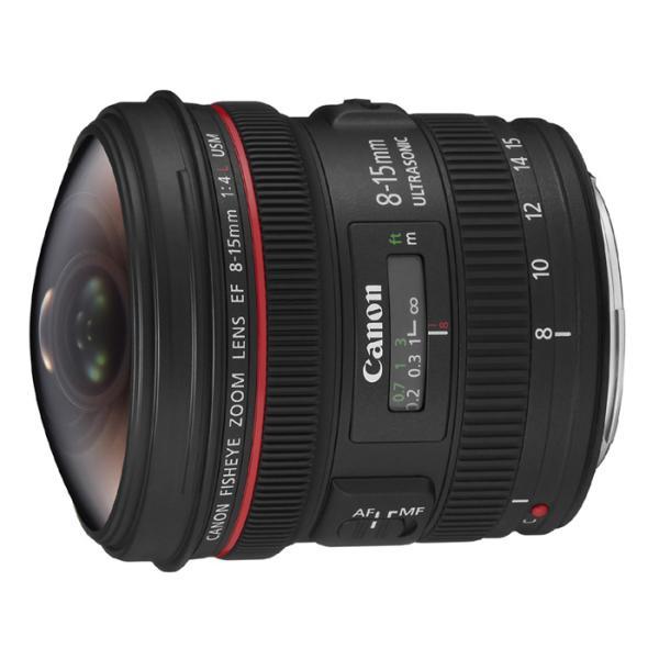 《新品》 Canon(キヤノン) EF8-15mm F4L フィッシュアイ USM