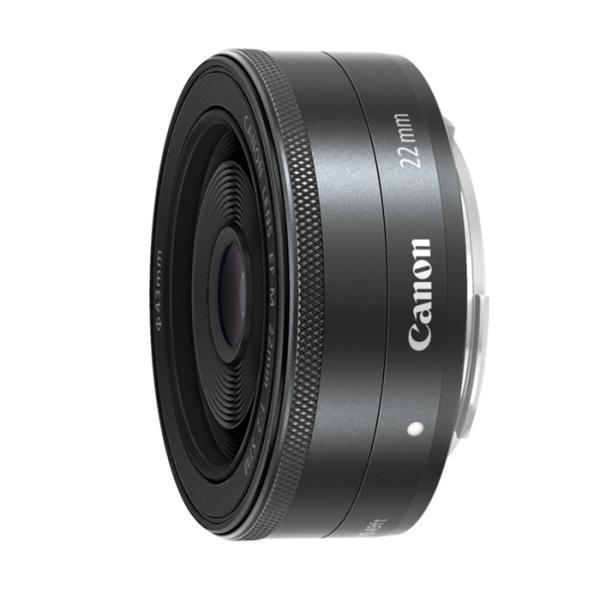 《新品》 Canon(キヤノン) EF-M22mm F2 STM ブラック