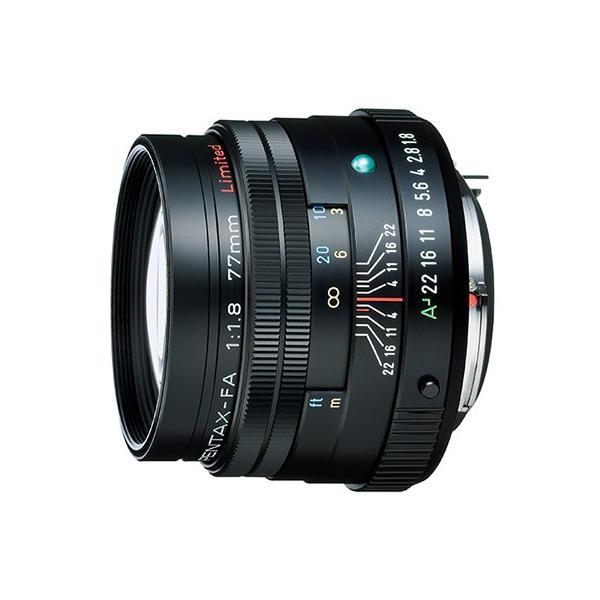 《新品》 PENTAX(ペンタックス) FA77mm F1.8 Limited ブラック