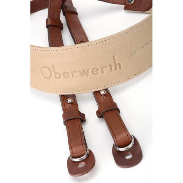 《新品アクセサリー》 Oberwerth (オーヴァーバース) カメラストラップ Rhein ライトブラウン 〔メーカー取寄品〕 ymapcamera 02