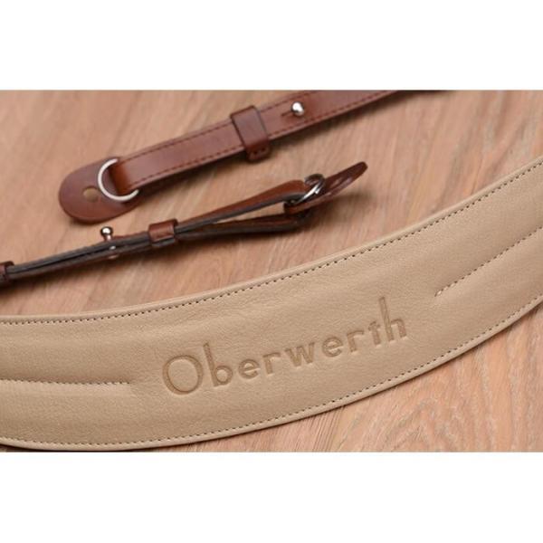 《新品アクセサリー》 Oberwerth (オーヴァーバース) カメラストラップ Rhein ライトブラウン 〔メーカー取寄品〕 ymapcamera 03