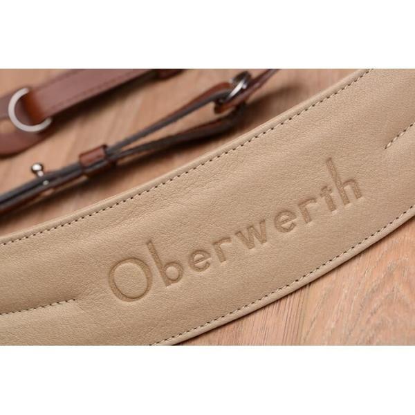 《新品アクセサリー》 Oberwerth (オーヴァーバース) カメラストラップ Rhein ライトブラウン 〔メーカー取寄品〕