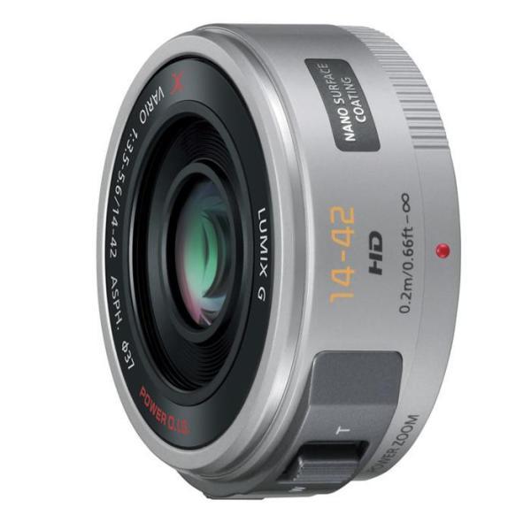 《新品》 Panasonic (パナソニック) LUMIX G X VARIO PZ 14-42mm F3.5-5.6 ASPH. POWER O.I.S. シルバー