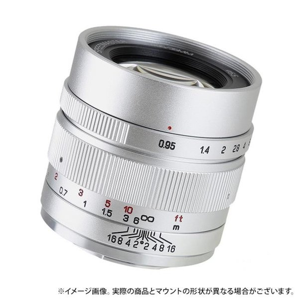 《新品》ZHONG YI OPTICAL SPEEDMASTER 35mm F0.95 II (フジフイルムX用) シルバー