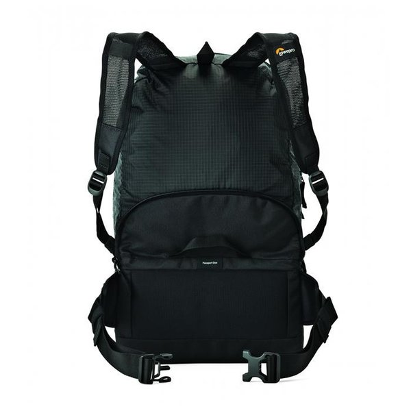 《新品アクセサリー》 Lowepro (ロープロ) パスポートデュオ ブラック【特価品/期間限定(4/30まで)】