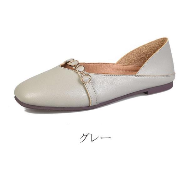 バレエシューズ レディース パンプス スリッポン 痛くない ローヒール フラット  ポインテッド  婦人靴  2019 春夏