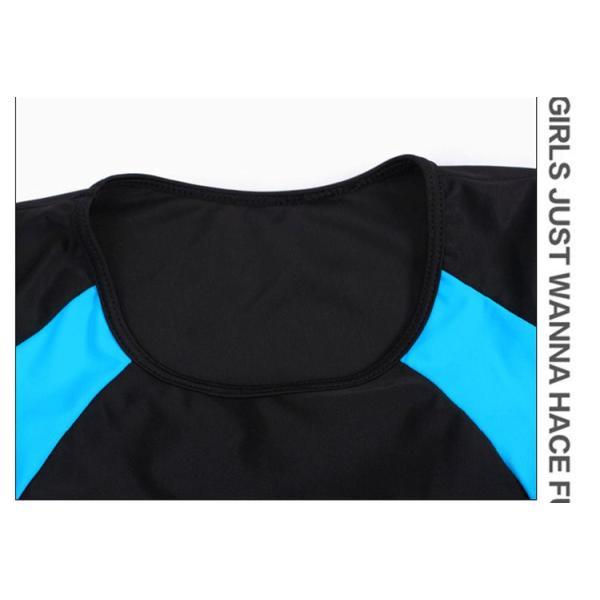競泳用 水着 レディース 体型カバー 練習用 売れ筋 フィットネス水着 女性用 女の子 2点セット 海水パンツ ポイント消化|ymart0417|18