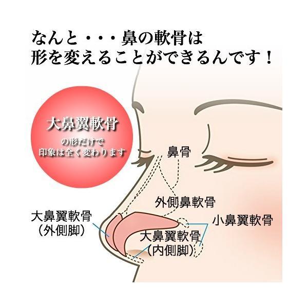 ノーズクリップ 鼻プチ 鼻高くするグッズ 鼻クリップ 鼻を高くする器具 鼻 グッズ 鼻 高くする ブルー|ymgs1981|03