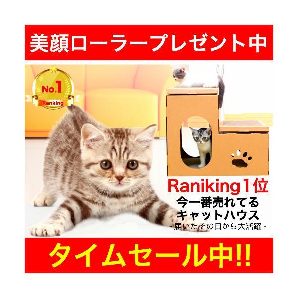 キャットハウス ダンボール 作り キャットタワー 猫 グッズ おもちゃ ベッド 爪とぎ ケージ おしゃれ 猫用 猫ハウス 段ボール ペット用品 収納 組立 簡単|ymgs1981