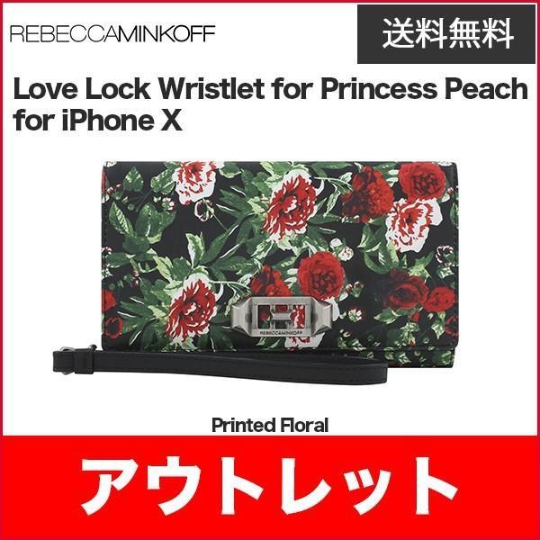 wholesale dealer 5d0d6 bca7a Rebecca Minkoff Love Lock Wristlet for iPhoneXS iPhoneX Printed Floral  :0191058045256:Y!mobile Selection ヤフー店 - 通販 - ...