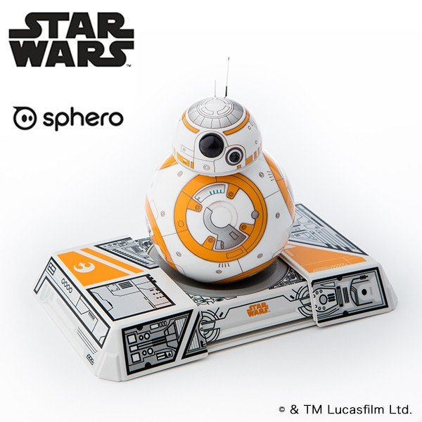 【スター・ウォーズ(TM)】BB-8(TM) App-Enabled Droid(TM) with Trainer|ymobileselection|01