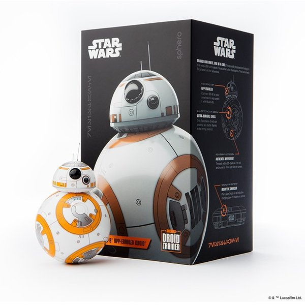 【スター・ウォーズ(TM)】BB-8(TM) App-Enabled Droid(TM) with Trainer|ymobileselection|04