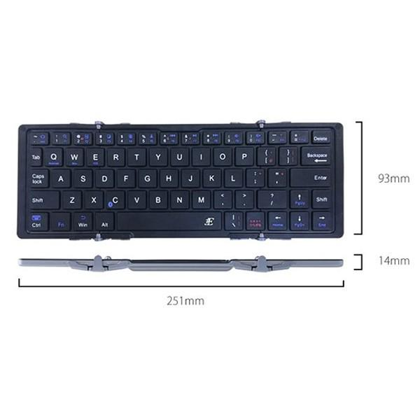 3E Bluetooth Keyboard 3つ折りタイプ ケース付属|ymobileselection|04