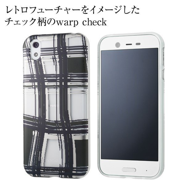 warp check Y!mobile Selection malamute Design Soft Case for Android One X1|ymobileselection|02