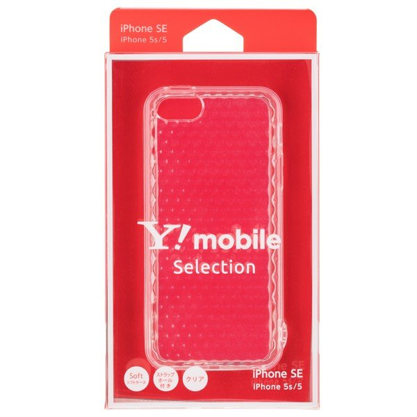 Y!mobile Selection ジュエルソフトケース for iPhone SE|ymobileselection|05