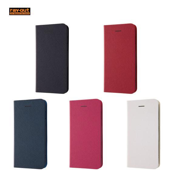 abbf9015c1 ray-out iPhone 8 Plus 手帳型ケースマグネットタイプ / ホワイト|ymobileselection ...
