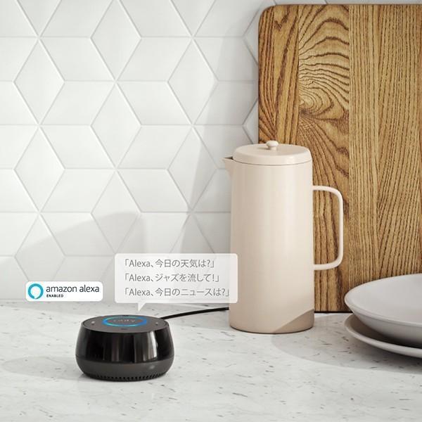 Amazon Alexa搭載 アンカー・ジャパン スマートスピーカー Eufy Genie / Anker ブラック アレクサ|ymobileselection|02