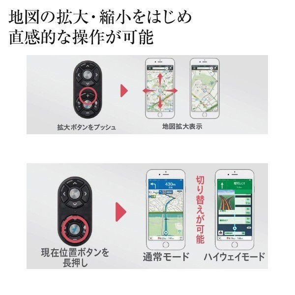 SoftBank SELECTION ナビうま ハンドルリモコン for Yahoo!カーナビ|ymobileselection|05