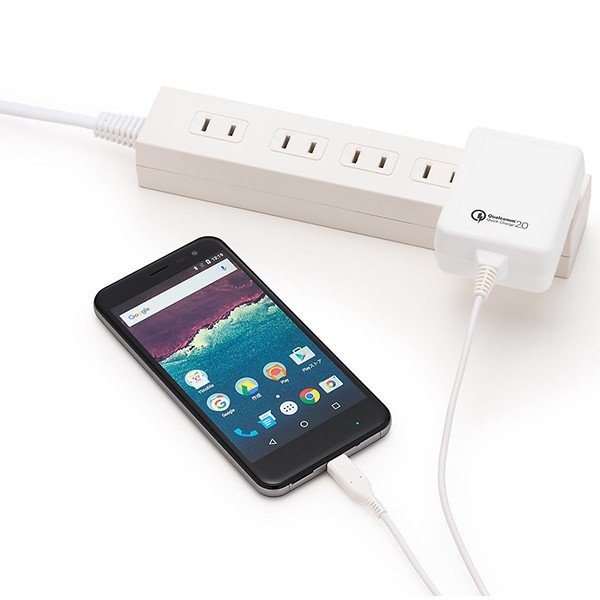 Y!mobile Selection microUSB 急速充電ACアダプタ|ymobileselection|04
