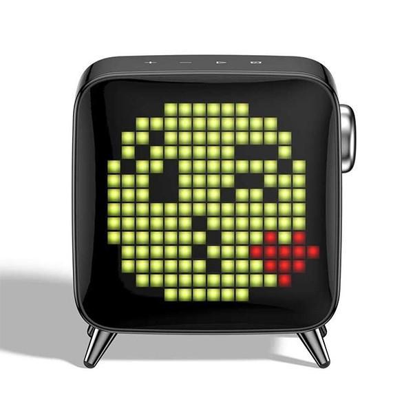 レトロテレビ型本格派Bluetoothスピーカー Tivoo-Max Divoom FOX Black