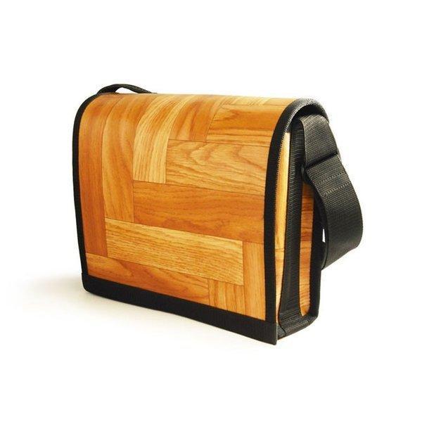 kitchenfloorbags キッチンフロアバッグ(7MK04L-WOODY PARKETT )ショルダーバッグ・デザインバッグ・斬新なアイデア 在庫限り