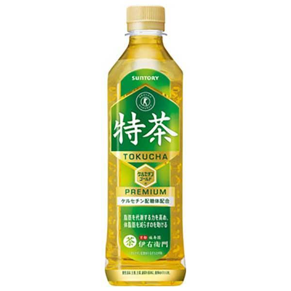 サントリー 特茶 伊右衛門 500ml x 24本 (ケース販売)(同梱不可)|yo-sake