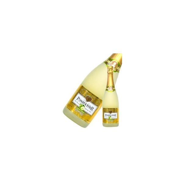 ポンパドール グリーンアップル 750ml x 12本 送料無料※(本州のみ) [ケース販売][スペイン/スパークリング/フルーツ/POMPA D'OR] yo-sake