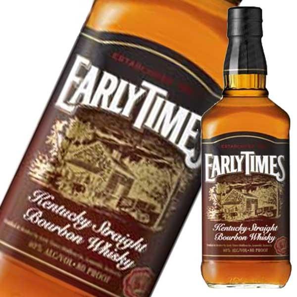 アーリータイムズ ブラウンラベル 40度 700ml 正規品 (アメリカ/EARLYTIMES/ウイスキー)|yo-sake
