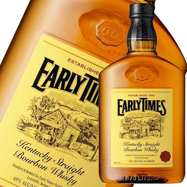 アーリータイムズ イエローラベル 40度 1.75L 1750ml 正規品 (アメリカ/EARLYTIMES/ウイスキー)|yo-sake