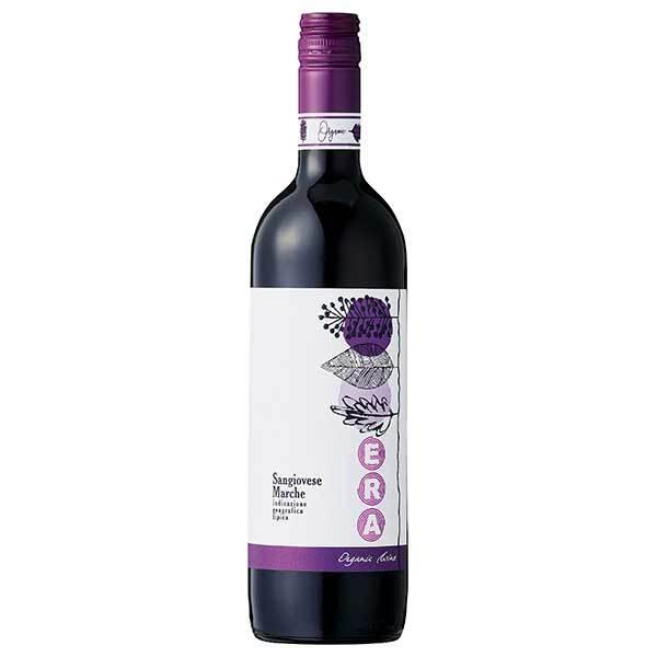 ワイン アウローラ エラ サンジョヴェーゼ オーガニック 750ml (イタリア/マルケ/赤ワイン/646067) MT yo-sake