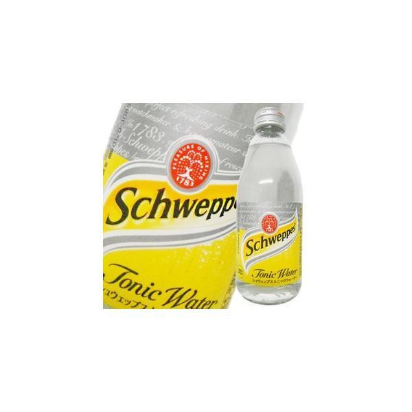 シュウェップス トニックウォータ− (瓶) 250mlx 24本 送料無料(本州のみ) あすつく (ケース販売) (2ケースまで同梱可能)|yo-sake