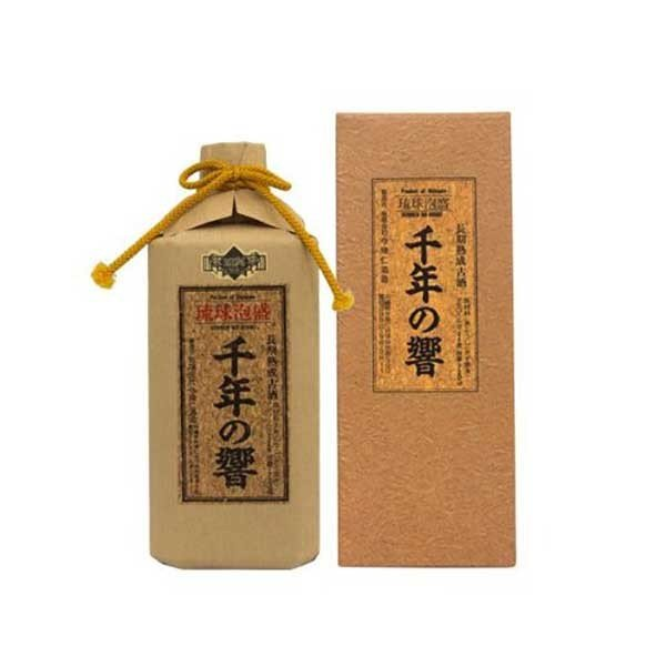 今帰仁 千年の響 古酒 25度 720ml x 12本 (ケース販売)(今帰仁酒造所/泡盛) 送料無料(本州のみ)|yo-sake