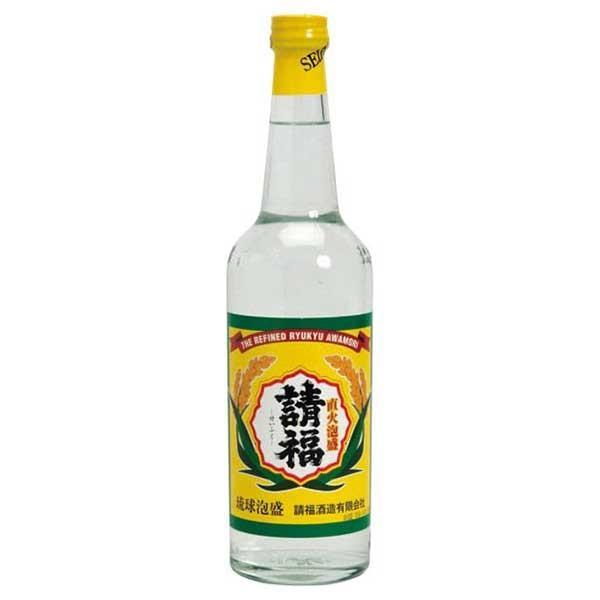 請福 直火 30度 600ml x 12本 (ケース販売)(請福酒造/泡盛) 送料無料(本州のみ) yo-sake