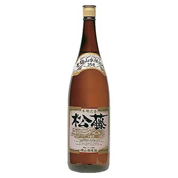 崎山 松藤 山水仕込 25度 1.8L 1800ml (崎山酒造廠/泡盛)|yo-sake