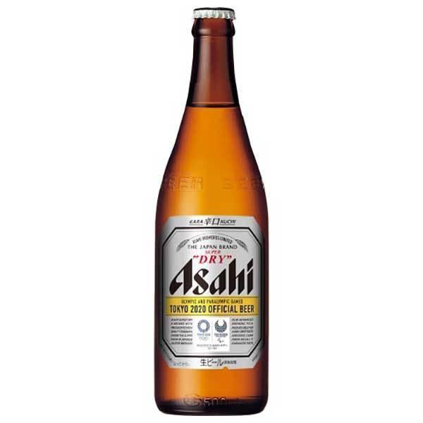 アサヒ スーパードライ 中びん500ml x 20本 (瓶) あすつく (国産/ビール/ALC 5%)