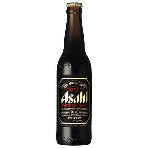 アサヒ スーパードライ ドライブラック 小びん334ml x 30本 (瓶)(国産/ビール/ALC 5.5%)