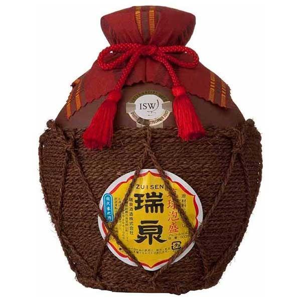 瑞泉 五合縄巻壷 43度 900ml (瑞泉酒造 / 泡盛)|yo-sake
