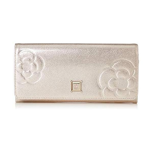 クレイサス財布フラップ長財布 マリーゴールド187820ピンク