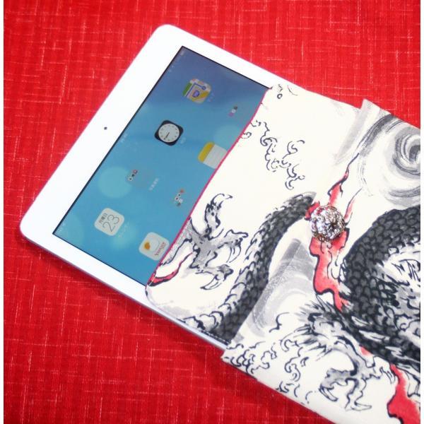 iPad Air、iPad Pro対応【龍】タブレットケース 特|yo-yamato|04