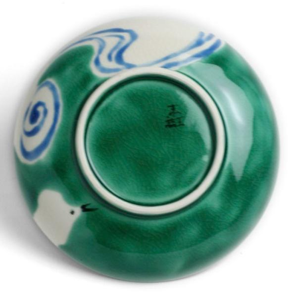 九谷焼:絵変わり千鳥文3.5寸皿・九谷美陶園《小皿・11.5cm》|yobi|02