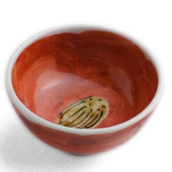 九谷焼:色絵椿酒盃・須田菁華《盃》|yobi