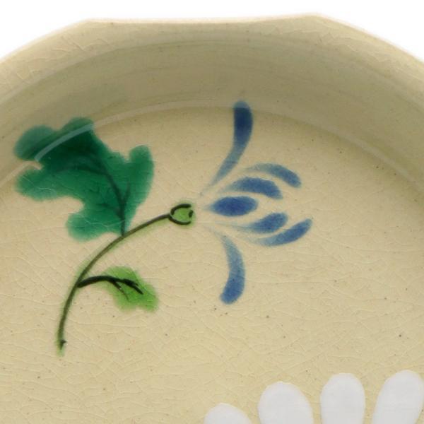 京焼・色絵菊文四方小皿・伏原博之《豆皿・小皿・10.0cm》|yobi|02