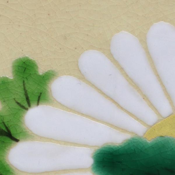 京焼・色絵菊文四方小皿・伏原博之《豆皿・小皿・10.0cm》|yobi|03