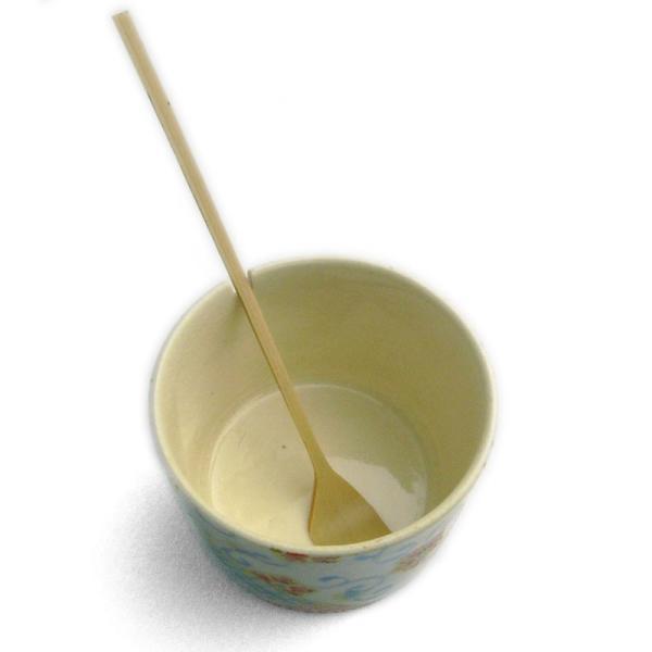 色絵小紋薬味入れ・豆さじ付・伏原博之 yobi 03