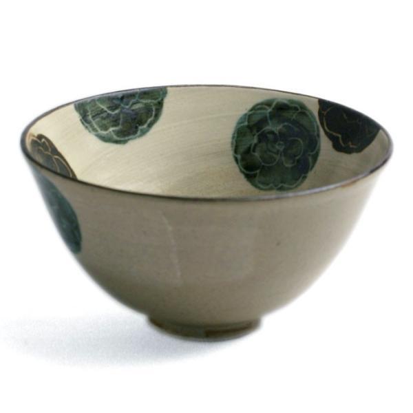 京焼:乾山写葵文飯碗・伏原博之《飯碗・ご飯茶碗・11.5cm》 yobi 02