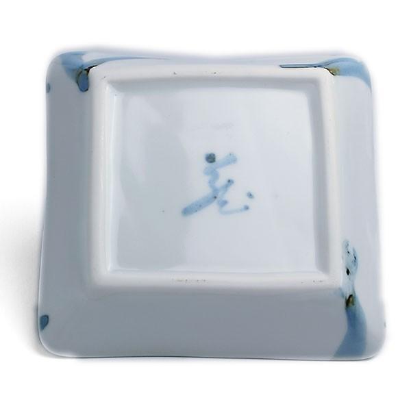 《定期販売》金箔染付角小皿・古川章蔵《小皿・11.0cm》|yobi|03