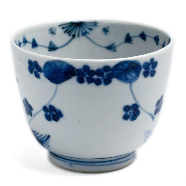 九谷焼:染付水草文碗・正木春蔵《小鉢・9.0cm》|yobi|02